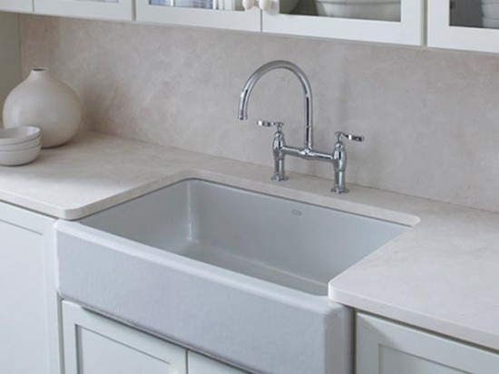 Whitehaven Apron-Front Kitchen Undercounter Sinks by KOHLER