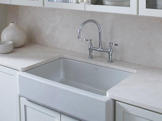 Whitehaven Apron-Front Kitchen Undercounter Sinks by KOHLER