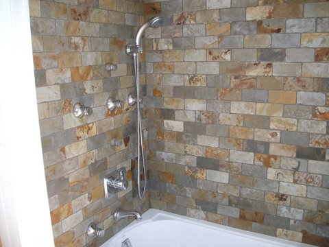 Modern Bathroom Wall and Floor Tile Design Ideas