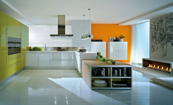 how to design a rectangular kitchen | afreakatheart