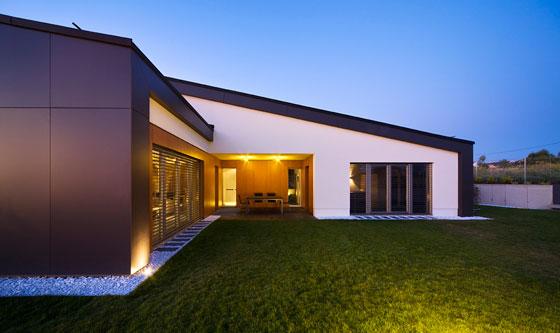 Modern home in Hungary