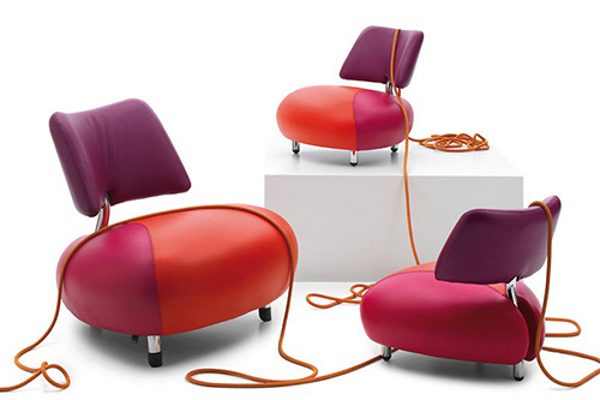elegant collection of leather armchair by leolux-pallone