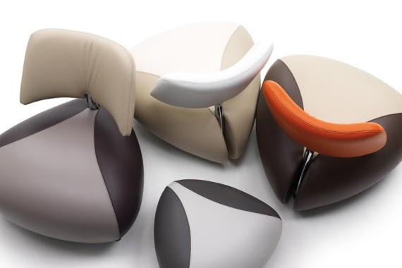 elegant leather armchair collection