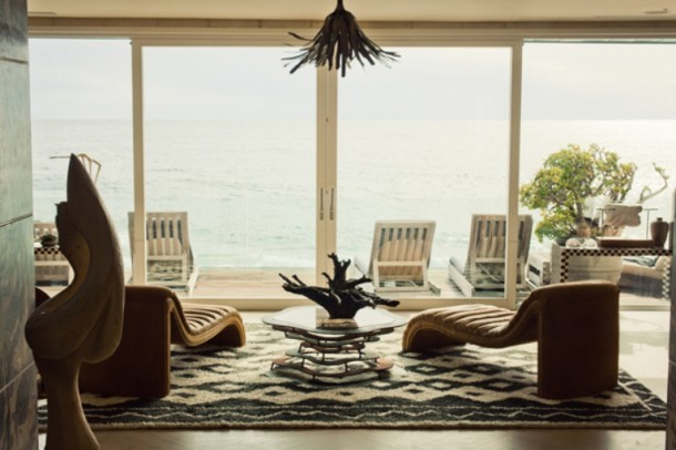 exquisite malibu house full of art