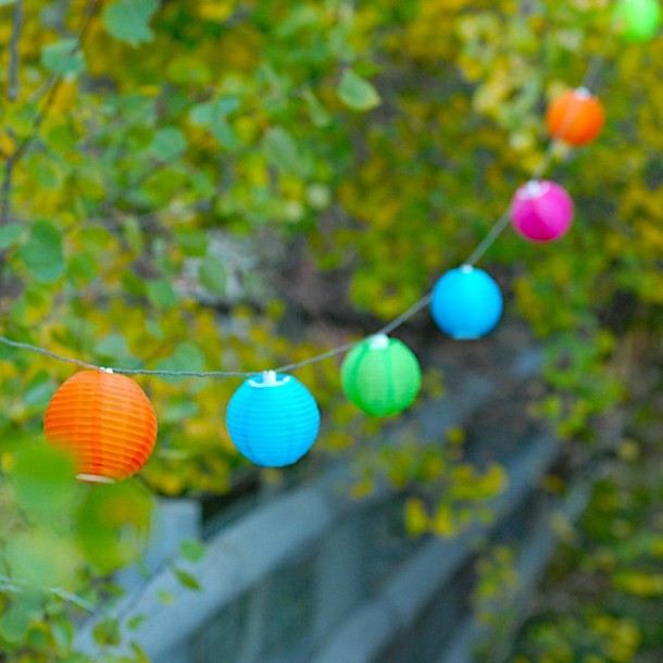 Soji Solar String Lights