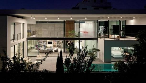 modern interior-designHaifa House
