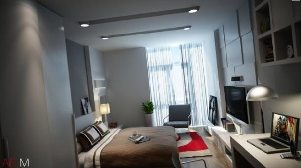 nguyen bedroom side view