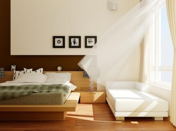 nguyen bedroom with window