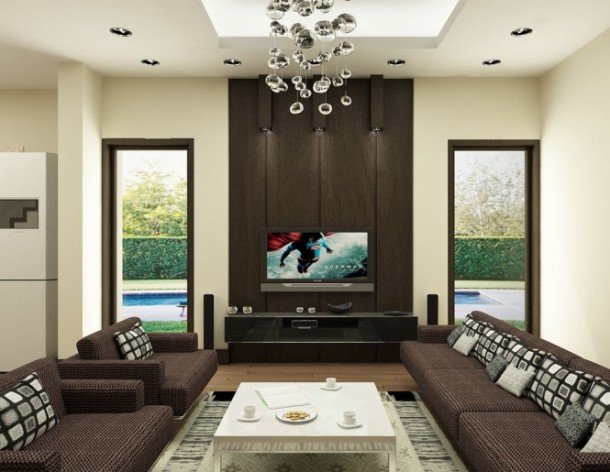 nguyen brown living room