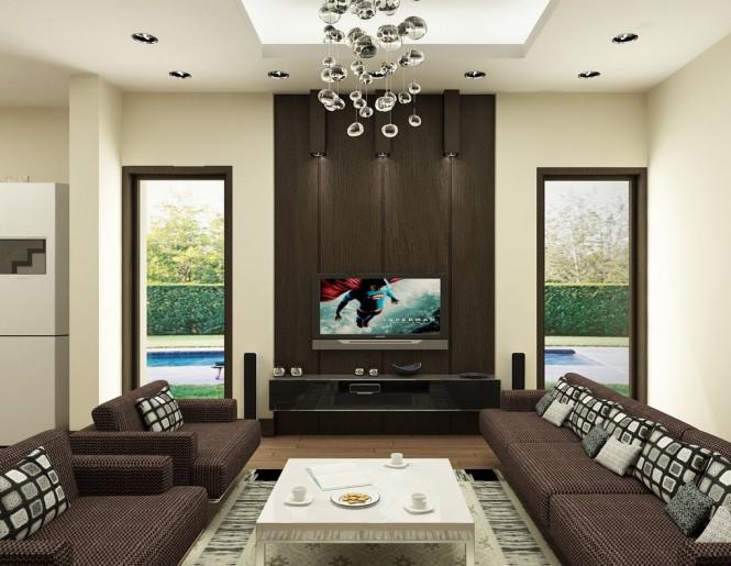 nguyen brown living room