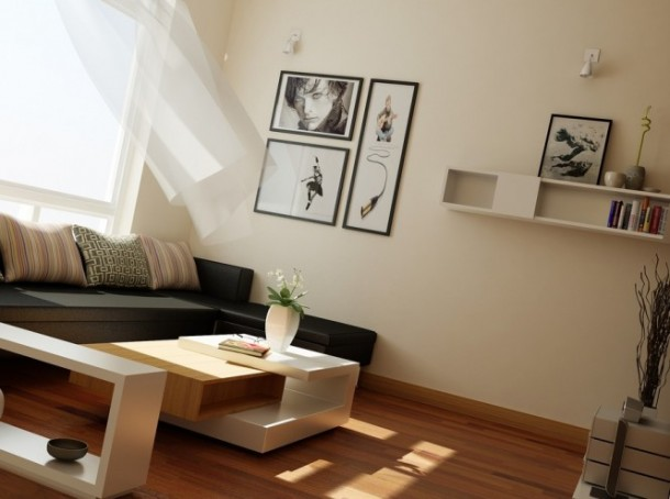 nguyen modern living area