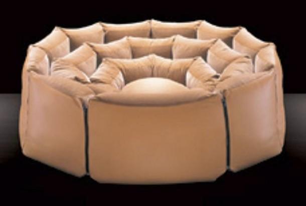 organic design pouf