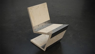 Modern chair by Netherlands designer Joris Spiertz