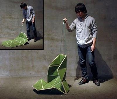 Innovative chair by Japanese designer Hiroyuki Morita