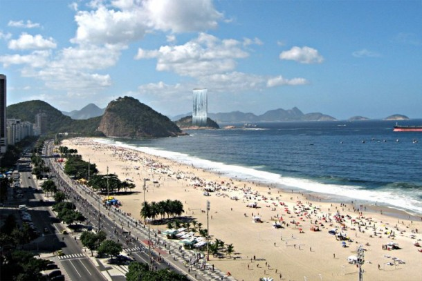 Amazing Solar City Tower for 2016 Rio Olympics