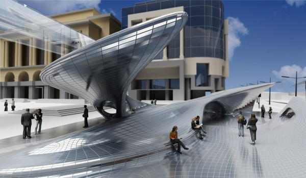 Urban Landmark Project in Perth Designed by AquiliAlberg
