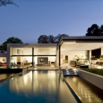 Awesome Private Pool at Mosi House Remodel by Nico van der Meulen Architects