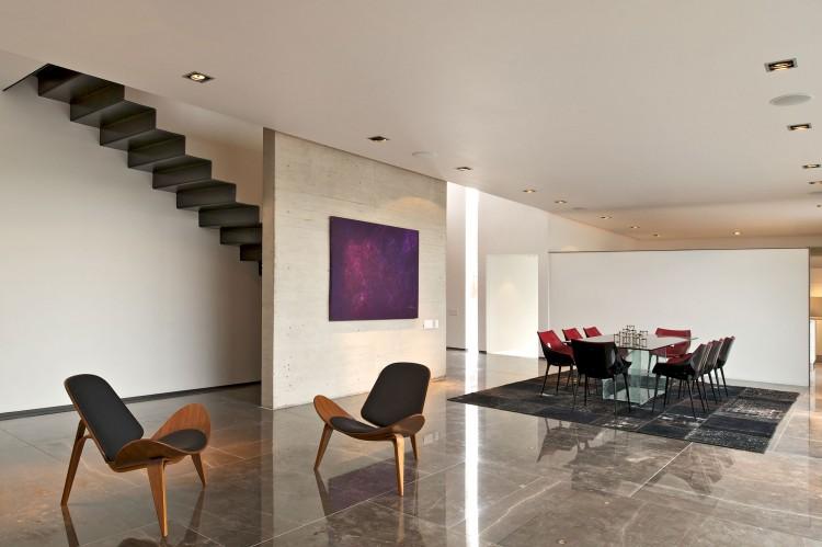 Interior of House X