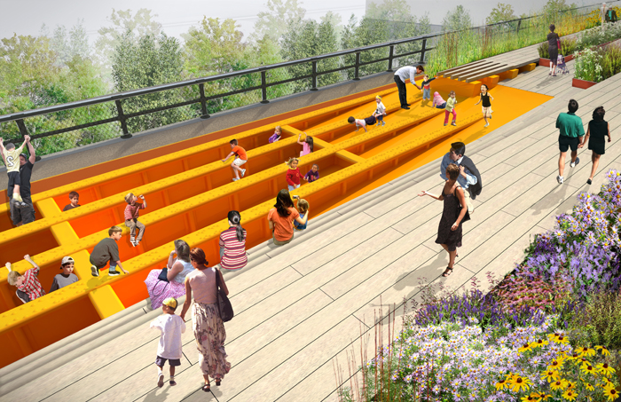 Designs for 3rd Section of NY's High Line Unveiled