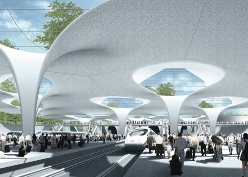 Green and Sustainable Transportation Station Stuttgart