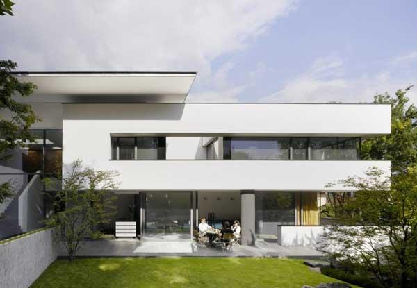 House Heidehof by Alexander Brenner Architects