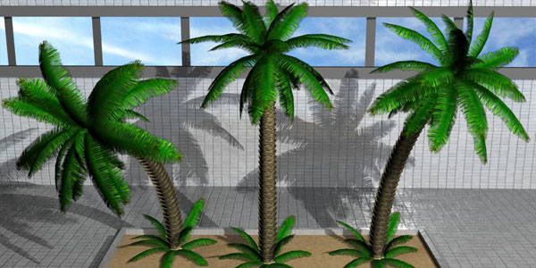 How To Model A Palm Tree