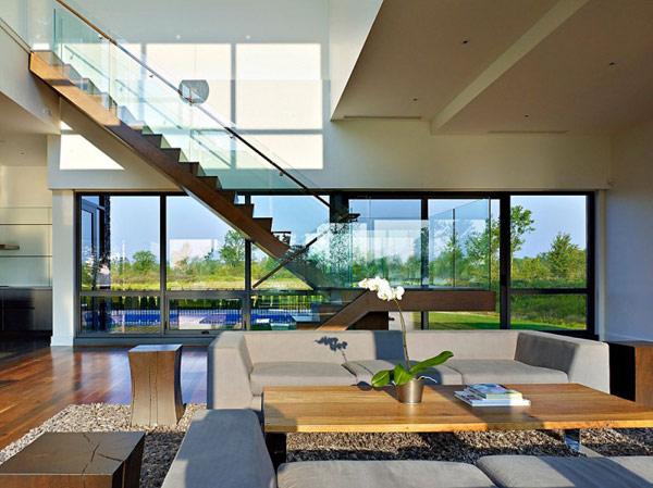Interior design Riverhouse Niagara by Zerafa Architecture Studio