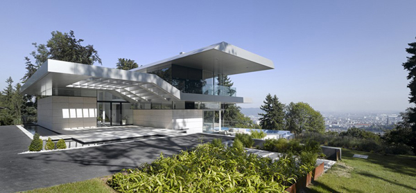 Luxury Villa in Linz Austria by Najjar Najjar Architects