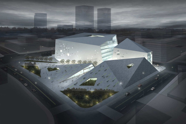 MoMA in Chengdu by Studio Ramoprimo