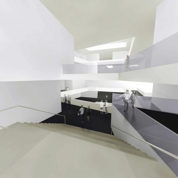 Museum of Modern Art beautiful interior