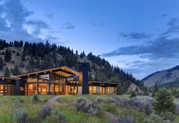 River Bank House by Balance Associates Architect