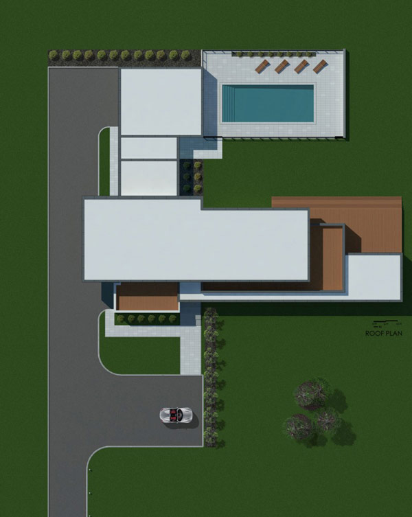 Riverhouse Niagara by Zerafa Architecture Studio sketch
