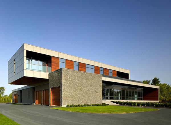 Riverhouse Niagara in Canada by ZERAFA Architecture