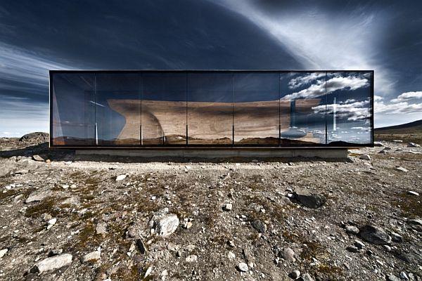 Snøhetta's Norwegian Wild Reindeer Centre Pavilion