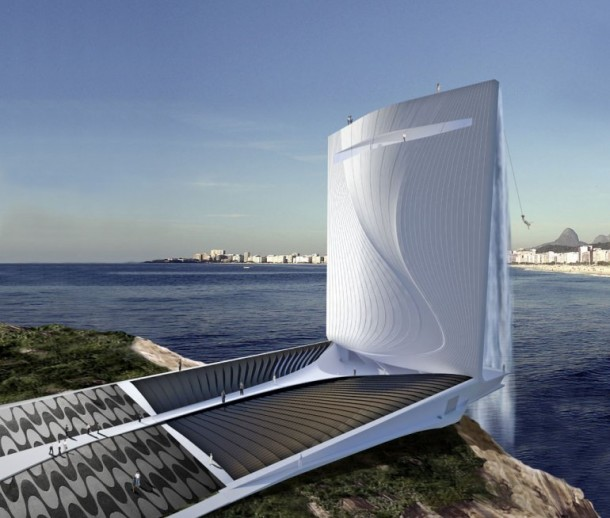 Stunning Architecture Solar City Tower for 2016 Rio Olympics