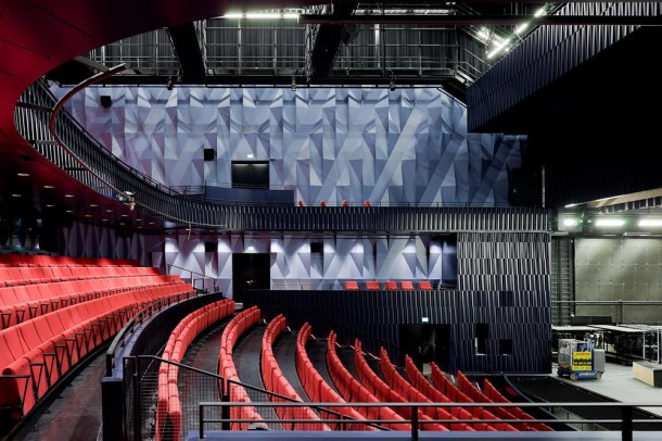 architecture design Kilden performing  arts centre