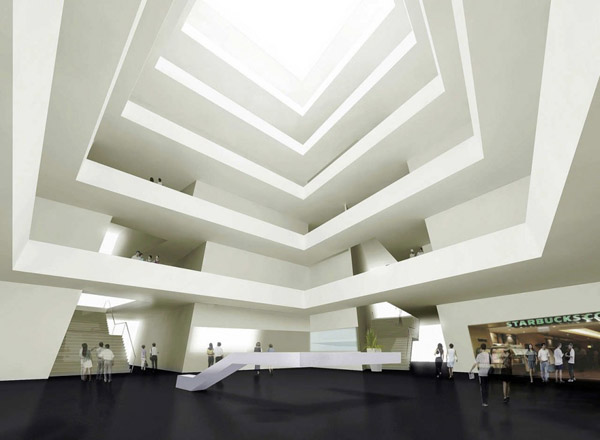 interior design MoMA in Chengdu by Studio Ramoprimo