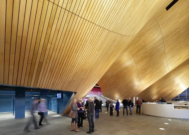 interior design at Kilden performing  arts centre