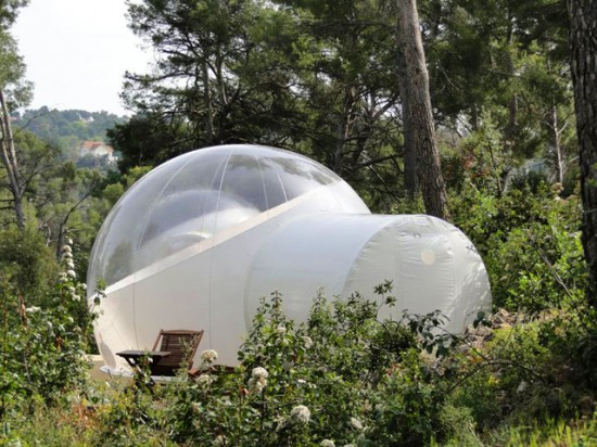 Amazing AttrapRêves bubble hotel
