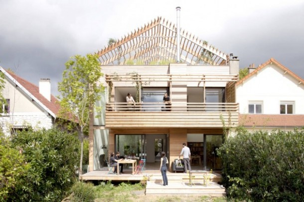 Awesome Sustainable Eco-House by Djuric Tardio