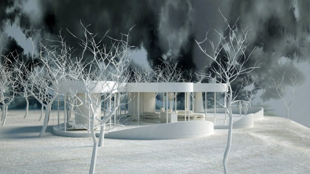 Cloud House by Axis Mundi model