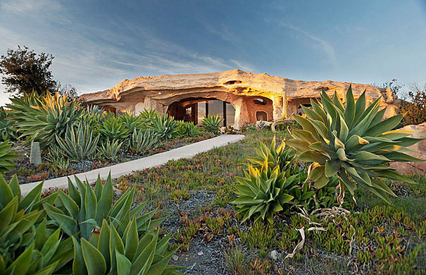 Dick Clark's Unique Flintstones Inspired Home in Malibu