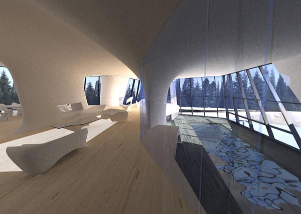 Interior Capital Hill Residence by Zaha Hadid