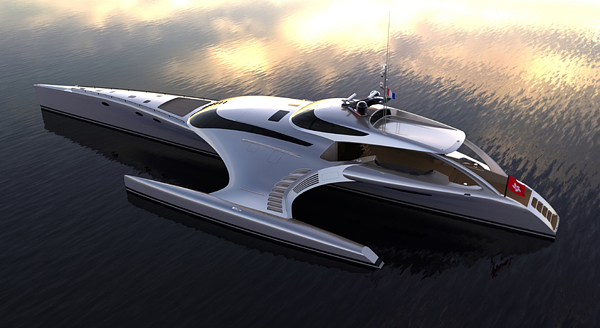 Adastra, $15 Million Luxury Yacht by John Shuttleworth Yacht Designs