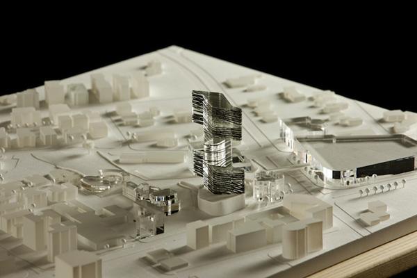 Model Netanya City Hall Building