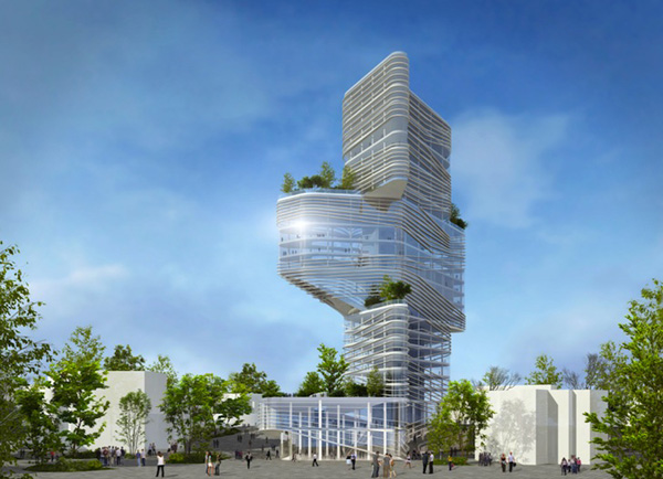 Netanya City Hall by Yaniv Pardo Architects