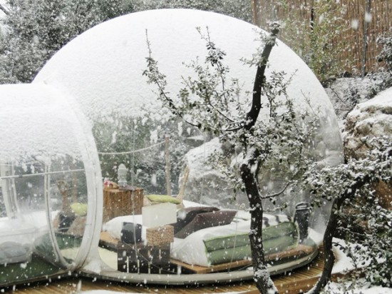 Stunning Bubble Hotel France
