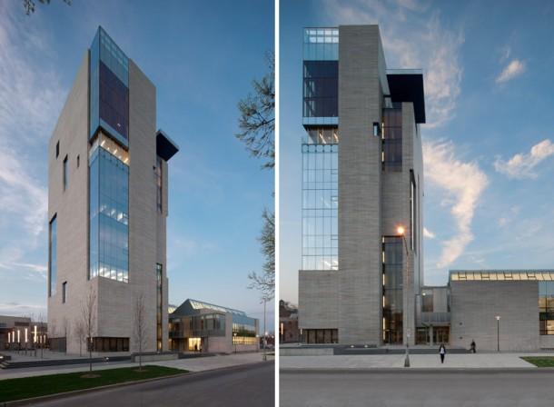 eleven-storey tower
