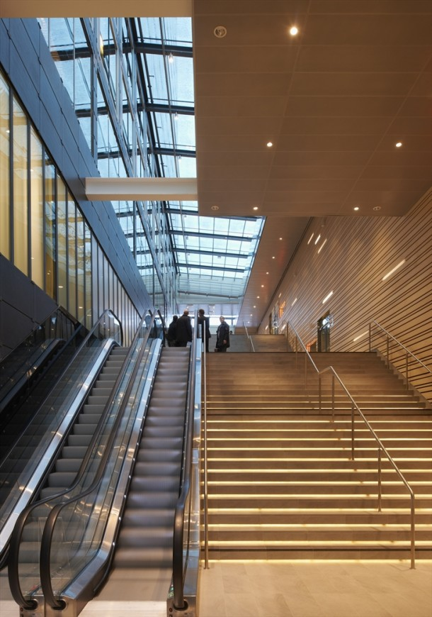 Entrance at stockholm waterfront by white arkitekter