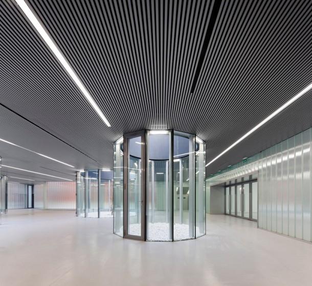 interior civic center in palencia